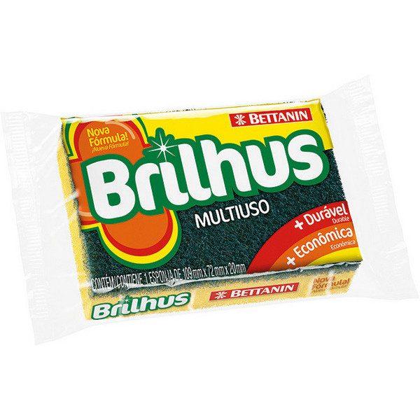 ESPONJA BRILHUS MULTIUSO